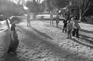 Yard tag, Memphis, 2011