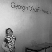 Georgia O'Keeffe Museum, March 2013