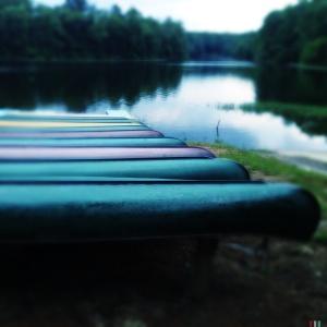 Canoe row