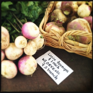 Large turnips