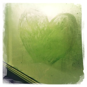 window heart