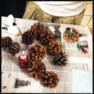 Pinecone trees: 1