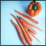 carrots and pepper
