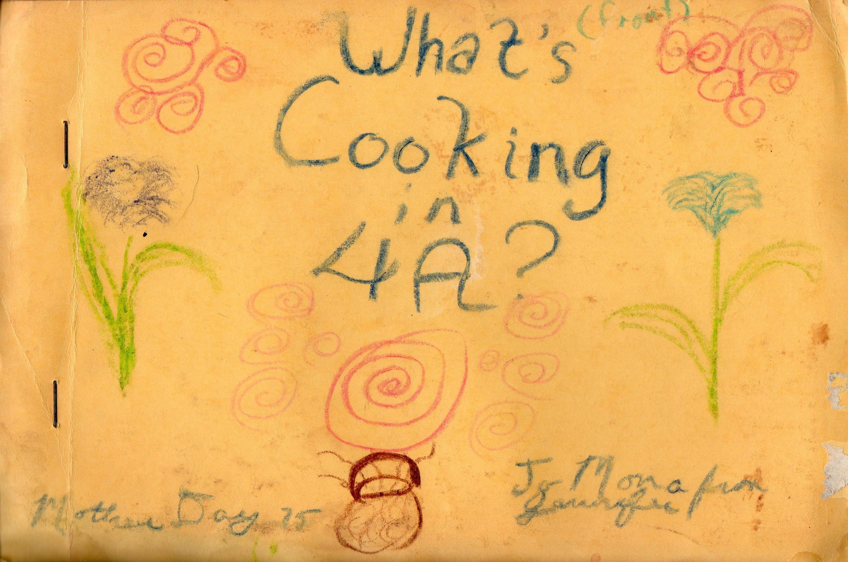 4th grade cookbook