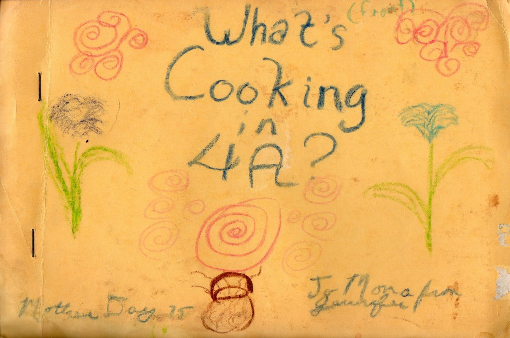 4th grade cookbook