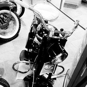 Cushman motorbike