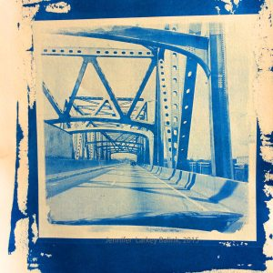 I55 Bridge cyanotype 2015