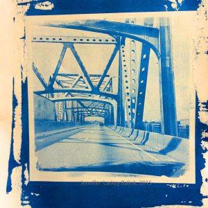 I55 Bridge cyanotype 2015