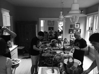 Power outage potluck 2017