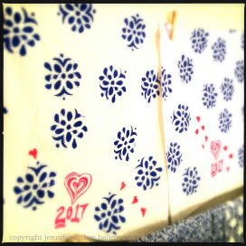 Valentine towels 2017