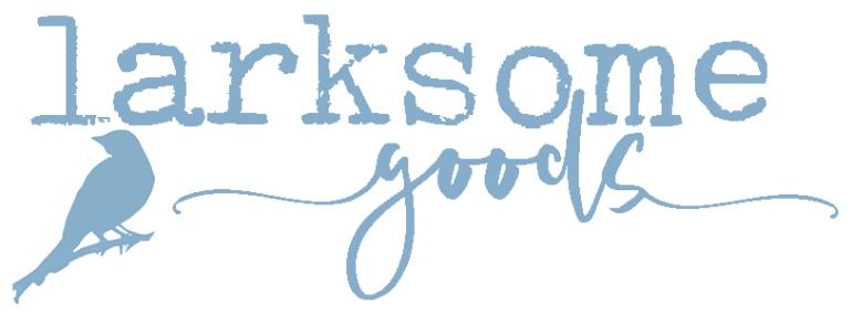 larksome goods - blue